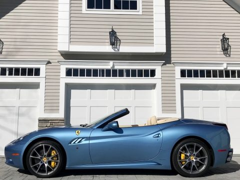 Azzurro California (Light Blue) Ferrari California 30.  Click to enlarge.