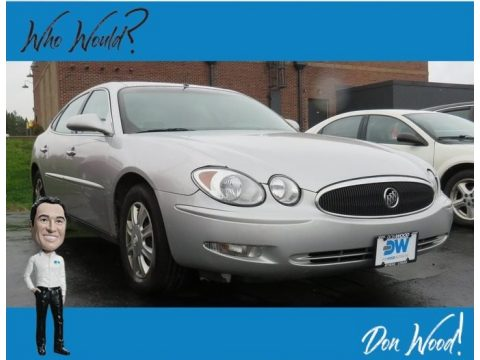 Sterling Silver Metallic Buick LaCrosse CX.  Click to enlarge.
