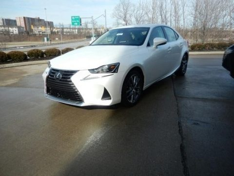 Eminent White Pearl Lexus IS 300 AWD.  Click to enlarge.