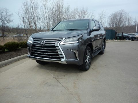 Nebula Gray Pearl Lexus LX 570.  Click to enlarge.