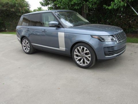 Byron Blue Metallic Land Rover Range Rover HSE.  Click to enlarge.