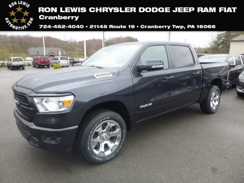 Maximum Steel Metallic Ram 1500 Big Horn Crew Cab 4x4.  Click to enlarge.
