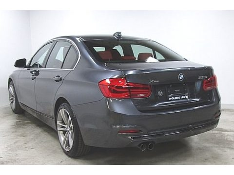 Mineral Grey Metallic BMW 3 Series 330i xDrive Sedan.  Click to enlarge.