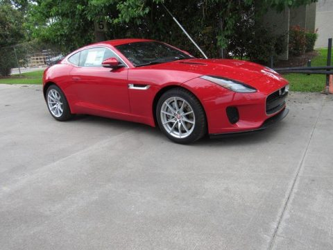 Caldera Red Jaguar F-TYPE Coupe.  Click to enlarge.