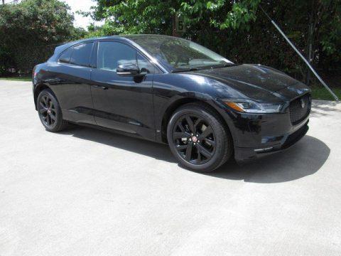 Farallon Pearl Black Metallic Jaguar I-PACE SE AWD.  Click to enlarge.