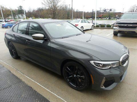 Dravit Grey Metallic BMW 3 Series 340i xDrive Sedan.  Click to enlarge.