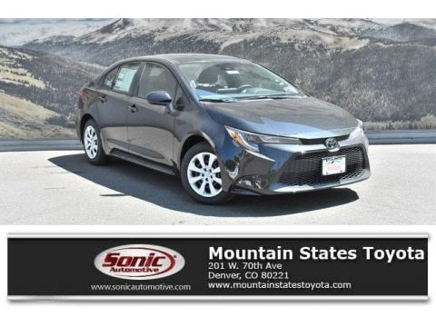 Black Sand Pearl Toyota Corolla LE.  Click to enlarge.