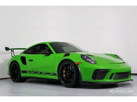 Lizard Green Porsche 911 GT3 RS.  Click to enlarge.