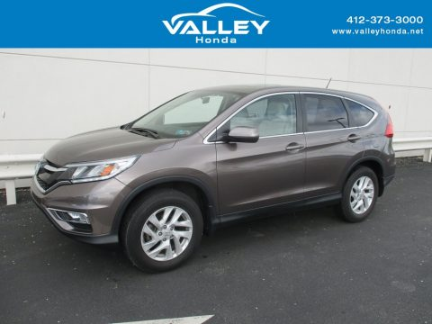Urban Titanium Metallic Honda CR-V EX AWD.  Click to enlarge.