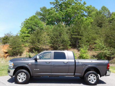 Granite Crystal Metallic Ram 3500 Laramie Mega Cab 4x4.  Click to enlarge.