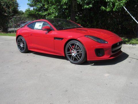 Caldera Red Jaguar F-TYPE Coupe.  Click to enlarge.