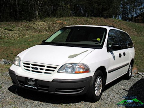 Vibrant White Ford Windstar LX.  Click to enlarge.