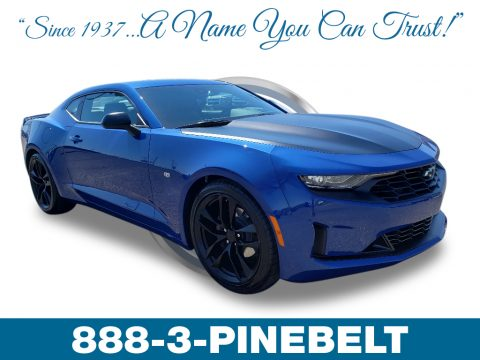Riverside Blue Metallic Chevrolet Camaro LT Coupe.  Click to enlarge.