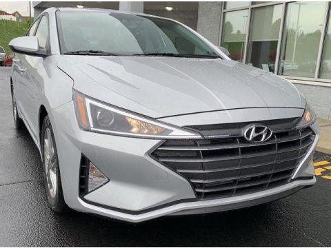 Symphony Silver Hyundai Elantra Value Edition.  Click to enlarge.