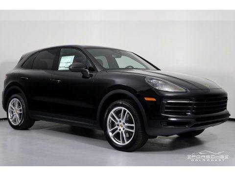 Black Porsche Cayenne .  Click to enlarge.