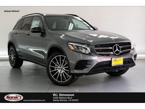 Selenite Grey Metallic Mercedes-Benz GLC 300.  Click to enlarge.