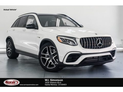Polar White Mercedes-Benz GLC AMG 63 4Matic.  Click to enlarge.