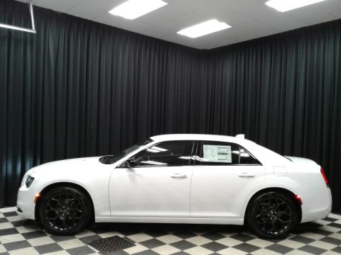 Bright White Chrysler 300 Touring.  Click to enlarge.