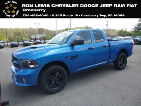 Hydro Blue Sport Edition Ram 1500 Classic Express Quad Cab 4x4.  Click to enlarge.