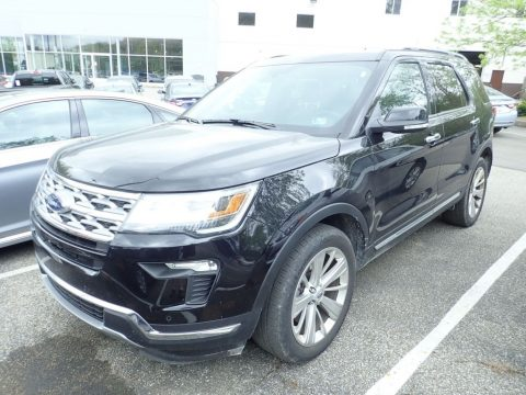 Agate Black Ford Explorer Limited 4WD.  Click to enlarge.