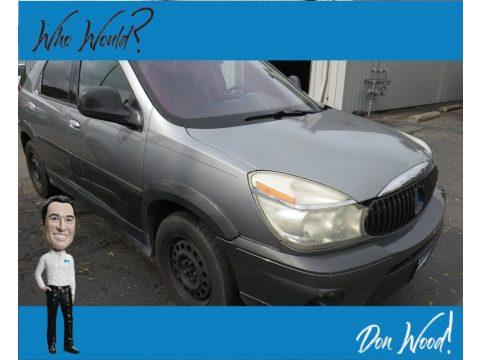Light Spiral Gray Metallic Buick Rendezvous CX AWD.  Click to enlarge.