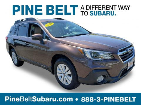 Cinnamon Brown Pearl Subaru Outback 2.5i Premium.  Click to enlarge.