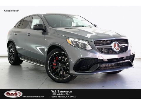 Selenite Grey Metallic Mercedes-Benz GLE 63 S AMG 4Matic Coupe.  Click to enlarge.
