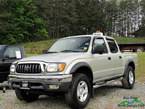 Mystic Gold Metallic Toyota Tacoma V6 Double Cab 4x4.  Click to enlarge.