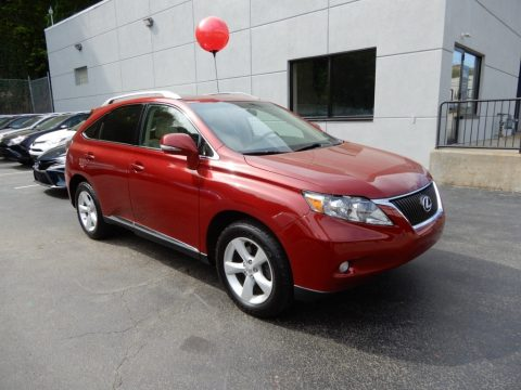 Matador Red Mica Lexus RX 350 AWD.  Click to enlarge.