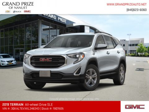Quicksilver Metallic GMC Terrain SLE AWD.  Click to enlarge.