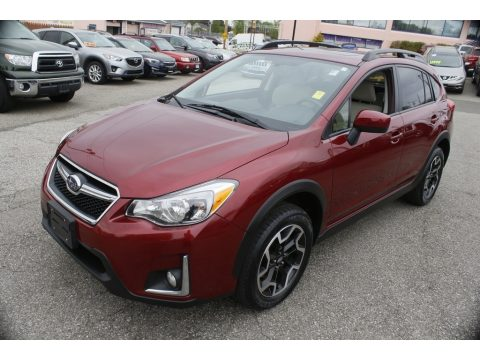 Venetian Red Pearl Subaru Crosstrek 2.0i Premium.  Click to enlarge.