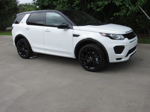 Fuji White Land Rover Discovery Sport HSE Luxury.  Click to enlarge.
