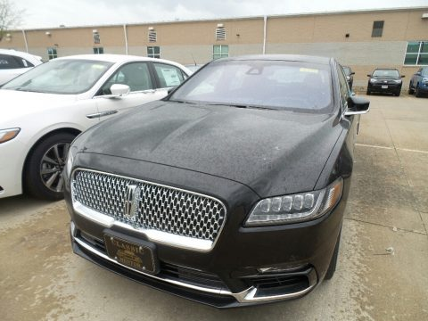 Infinite Black Metallic Lincoln Continental Reserve AWD.  Click to enlarge.