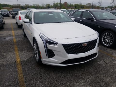 Crystal White Tricoat Cadillac CT6 Luxury AWD.  Click to enlarge.