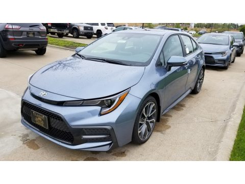 Celestite Gray Metallic Toyota Corolla SE.  Click to enlarge.