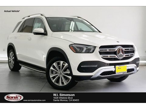 Polar White Mercedes-Benz GLE 350 4Matic.  Click to enlarge.