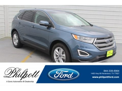 Blue Ford Edge SEL.  Click to enlarge.