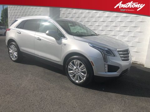 Radiant Silver Metallic Cadillac XT5 Premium Luxury AWD.  Click to enlarge.