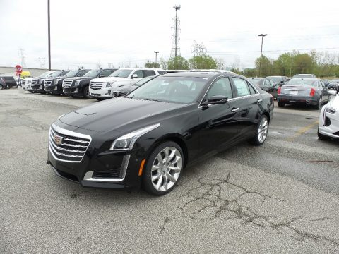 Black Raven Cadillac CTS Premium Luxury AWD.  Click to enlarge.
