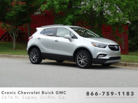 Quicksilver Metallic Buick Encore Sport Touring.  Click to enlarge.