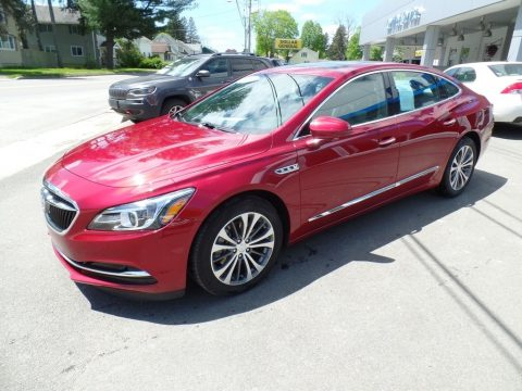 Red Quartz Tintcoat Buick LaCrosse Essence AWD.  Click to enlarge.