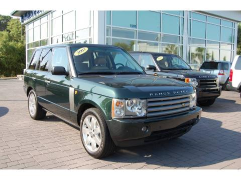 Used 2003 land rover range rover hse for sale stock for Baker motor company land rover