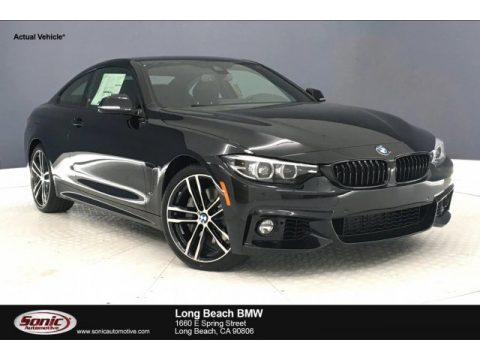 Black Sapphire Metallic BMW 4 Series 440i Coupe.  Click to enlarge.