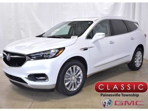 White Frost Tricoat Buick Enclave Essence AWD.  Click to enlarge.