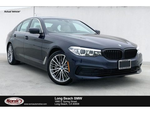Imperial Blue Metallic BMW 5 Series 530i Sedan.  Click to enlarge.