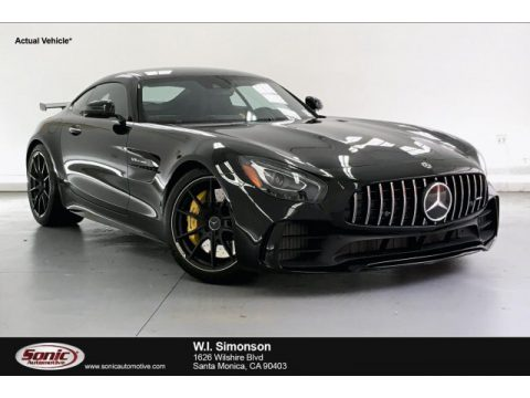 Black Mercedes-Benz AMG GT R Coupe.  Click to enlarge.