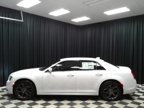 Bright White Chrysler 300 S.  Click to enlarge.