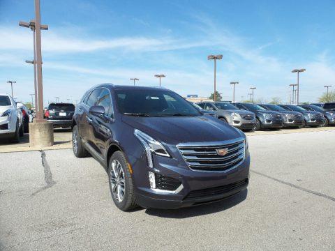 Harbor Blue Metallic Cadillac XT5 Premium Luxury AWD.  Click to enlarge.