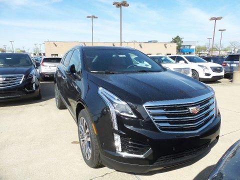 Stellar Black Metallic Cadillac XT5 Premium Luxury AWD.  Click to enlarge.