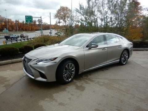 Atomic Silver Lexus LS 500 AWD.  Click to enlarge.